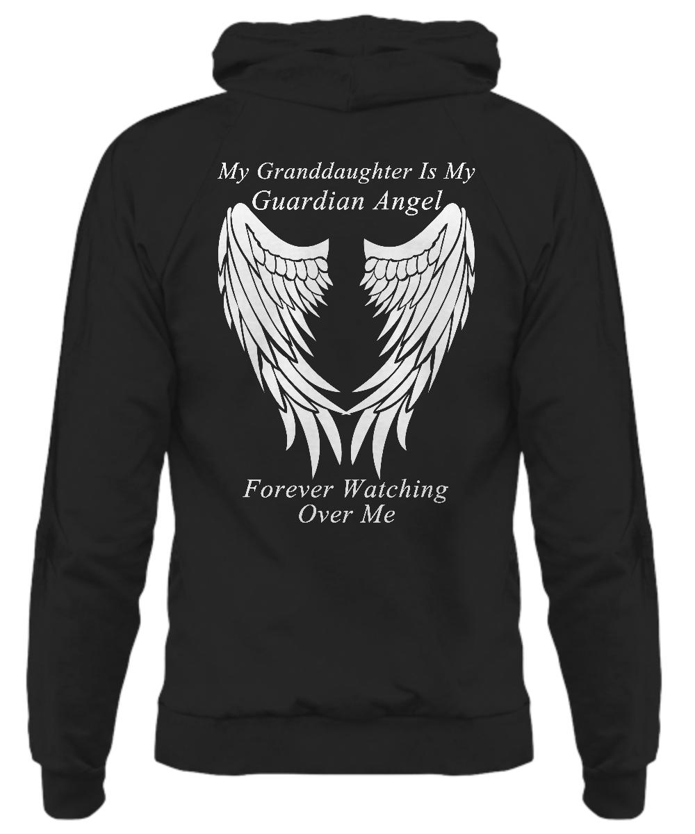 Granddaughter Guardian Angel - Hoodie