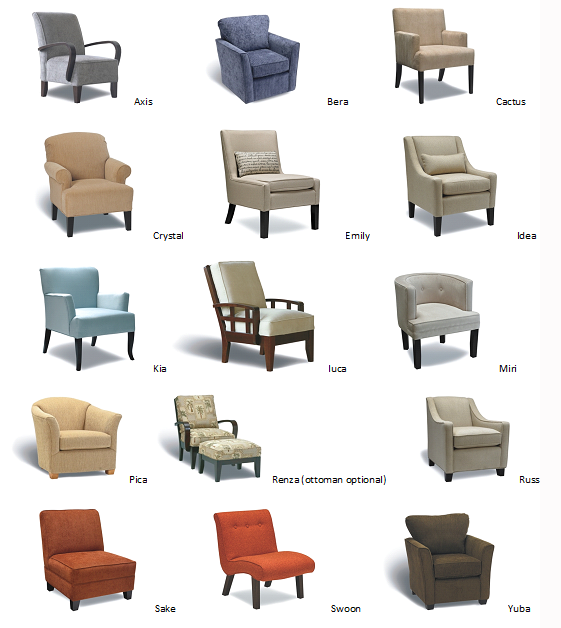 12 Types Of Chairs For Your Different Rooms Furniture Design