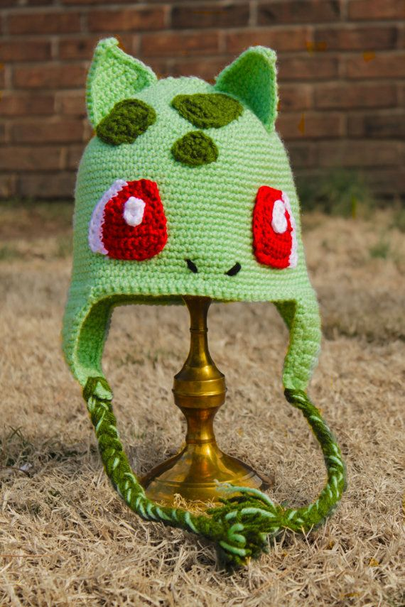 Bulbasaur Crochet Hat - Freestyle  100c5ed3e86