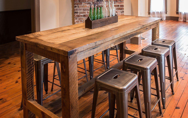 The Hemingway Pub Table Nlb Furniture Pub Kitchen Table Bar