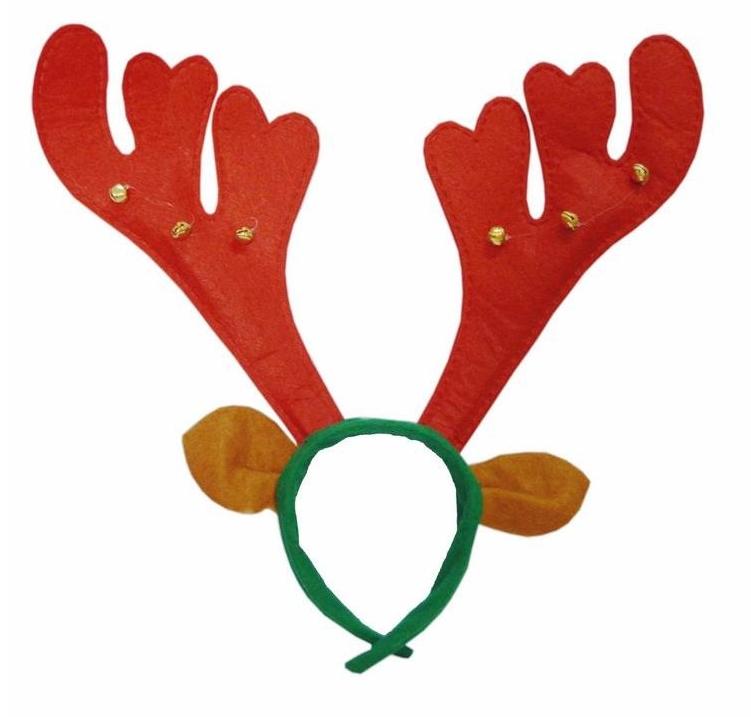 Deer Antlers Hair Accessory Christmas Gift Belt Bell Headband Christmas Elk Fedoras Red Riding Hood Https Www Craft Gifts Christmas Headband Reindeer Antlers
