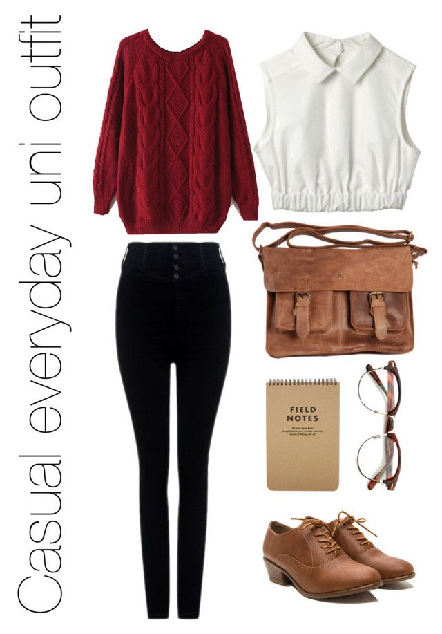 An Everyday University Outfit by pretentious-filmstudent on Polyvore featuring polyvore, fashion, style, Citizens of Humanity, Rowallan and clothing