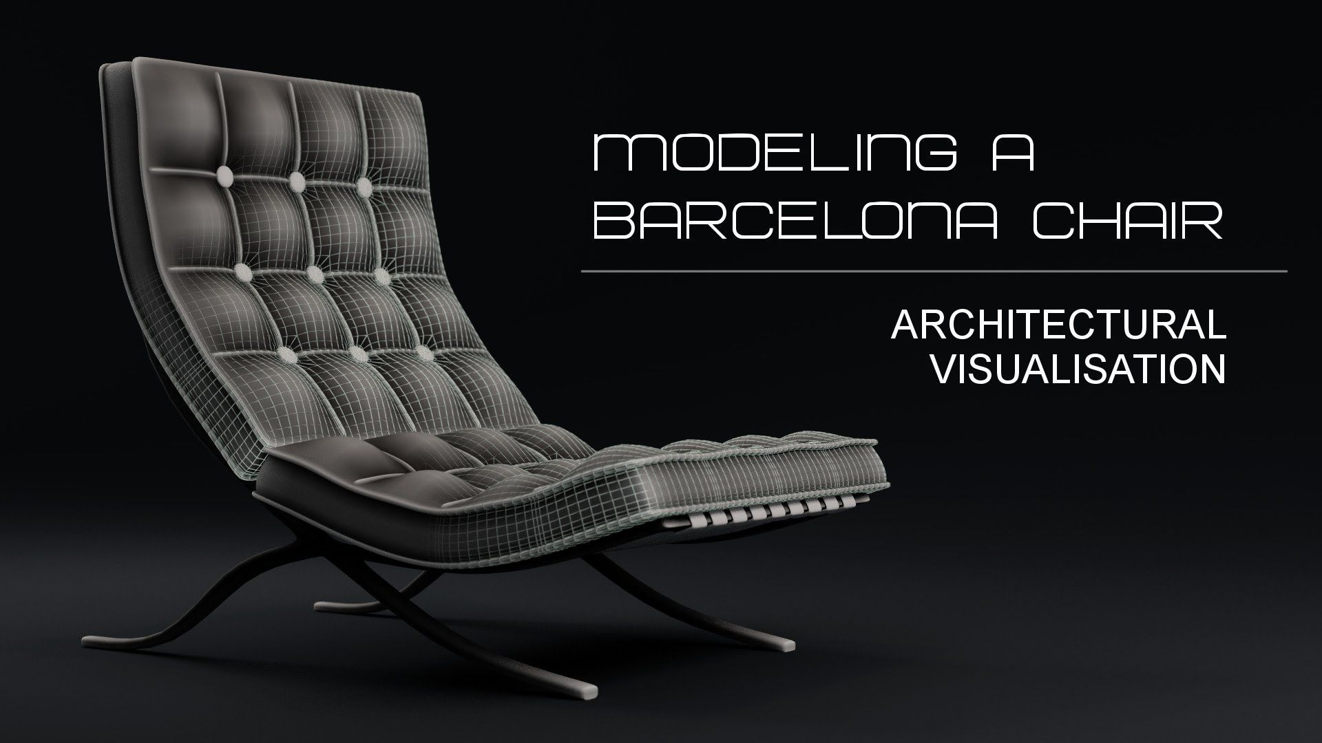 Photorealistic chair in blender modeling tutorial: 1 of 2 youtube.