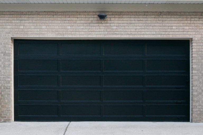 How To Paint A Garage Door Black Garage Doors Garage Door Design Garage Door Paint