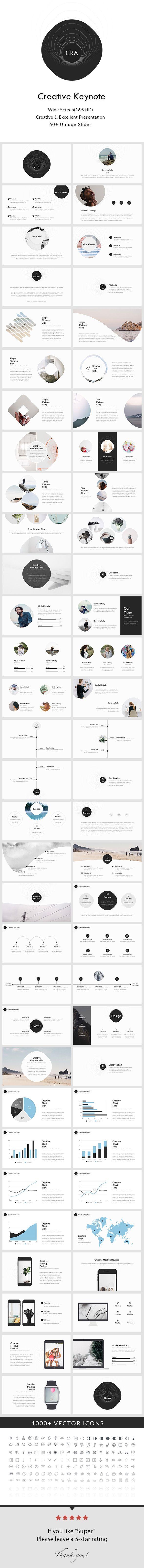 Creative - Keynote Presentation Template - Creative Keynote Templates