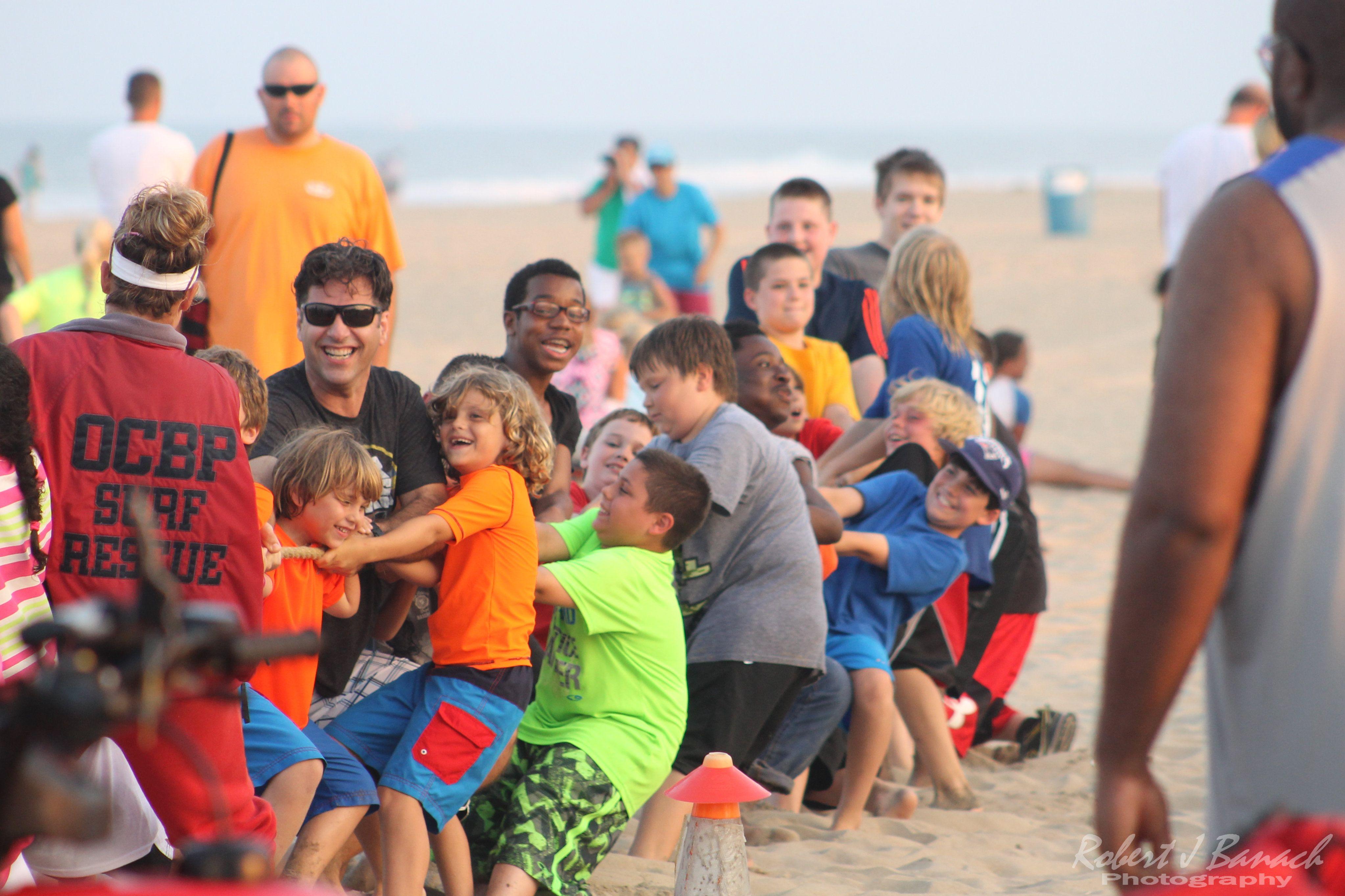 Ocean City Family Olympics | Ocean city md, City family
