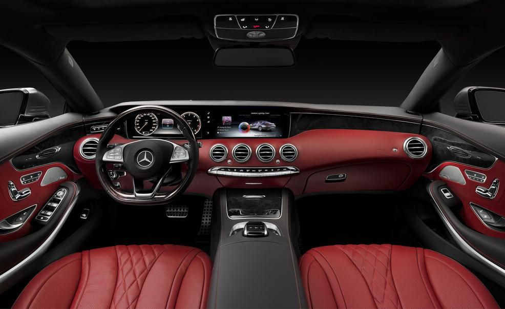 2015 Mercedes Benz S500 4matic Coupe Interior Photo 570158 S 986x603