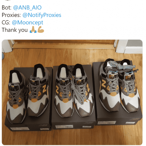 AIO Bot - Cop Limited Sneakers using