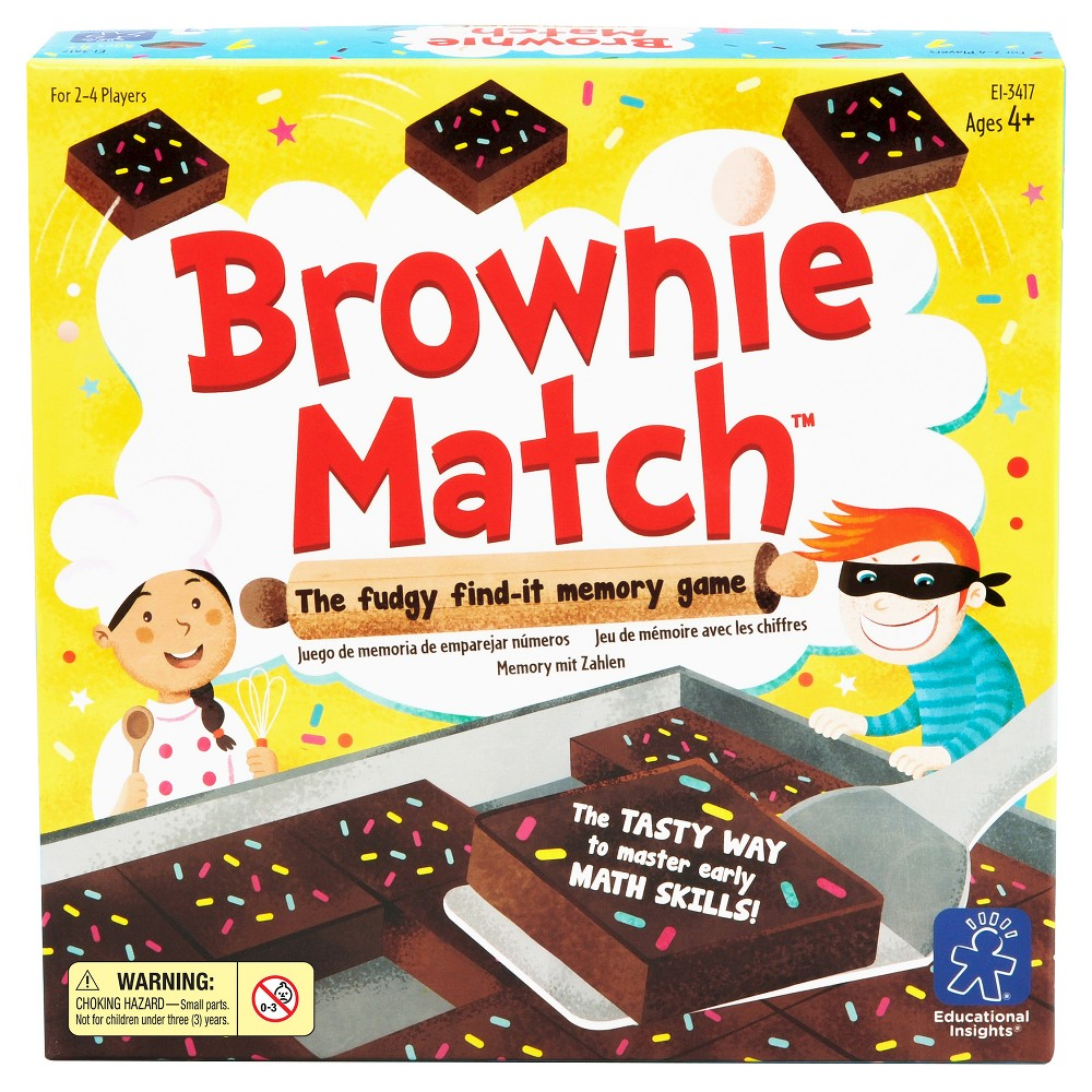 Educational Insights Brownie Match Game Board games for