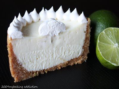 It S A Key Lime Pie Sour Cream No Eggs Lime Recipes Mini Key Lime Pies Baking