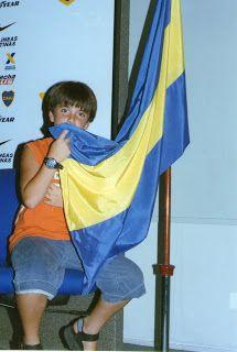 De viaje en familia: Un dia en la cancha de Boca Juniors .