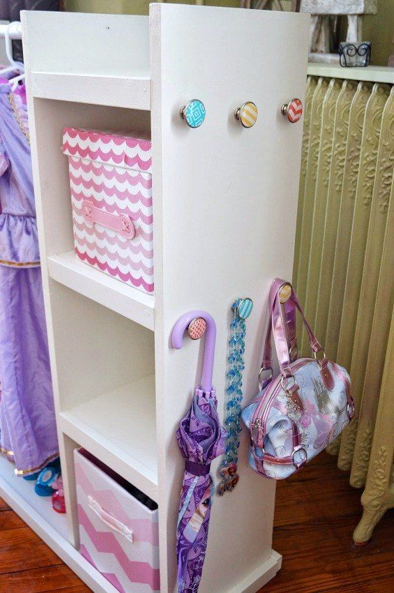 Wonderful DIY Dress Up Storage Center