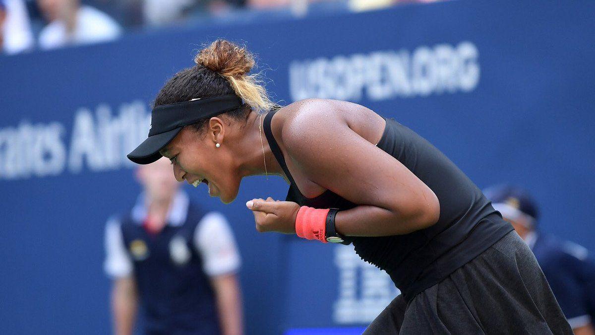 Naomi Osaka Reaches Her First Grand Slam Sf Us Open Tennis Usopen Twitter Us Open Tennis Players Tennis