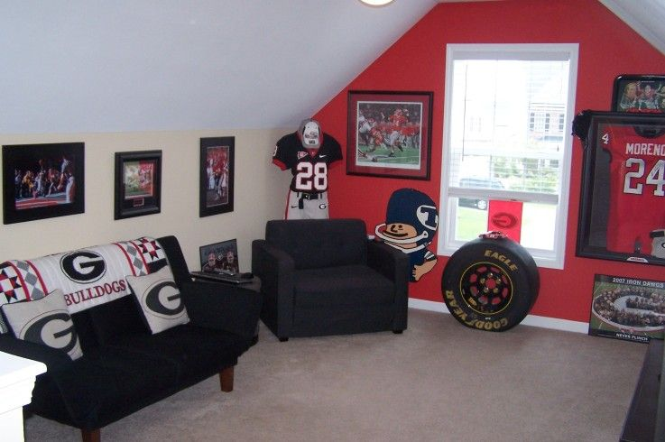 Georgia Bulldog Room