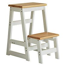 Short And Tall Separate Stools That Fit Together As A Step Stool