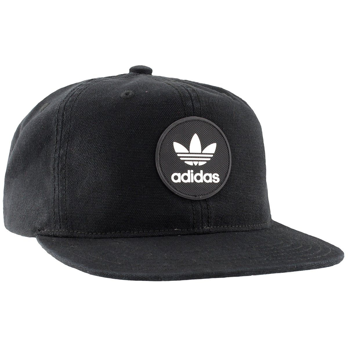 a483c0672d2 adidas Mens Originals Trefoil Deacon Cap One Size Black     To view further  for this item