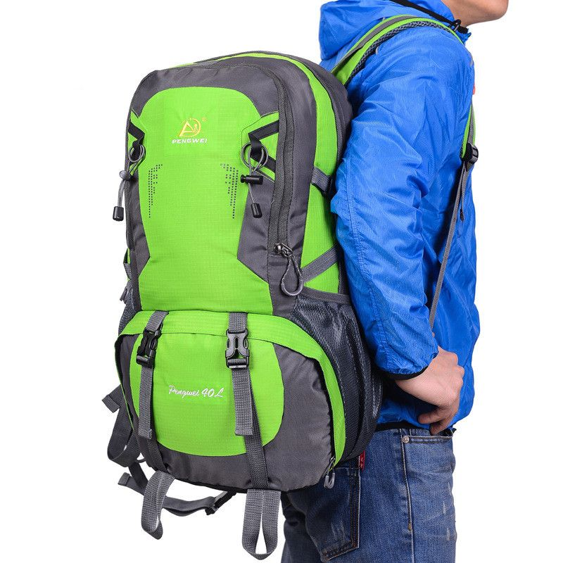 40L Outdoor Climbing Bag Professional Waterproof Backpack ...