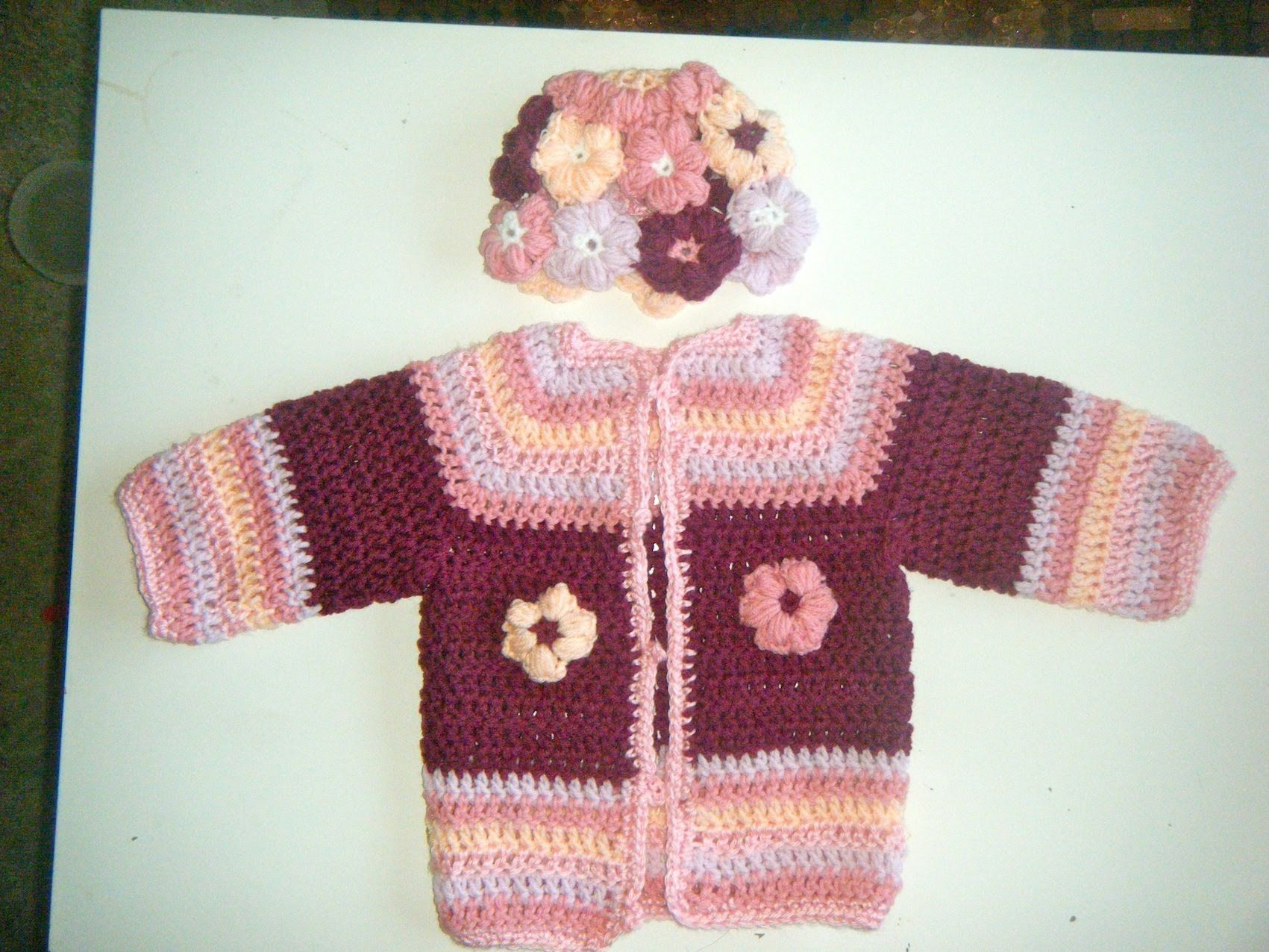 How to crochet a baby cardigan sweater 1 2 year old baby girl how to crochet a baby cardigan sweater 1 2 year old baby girl bankloansurffo Choice Image