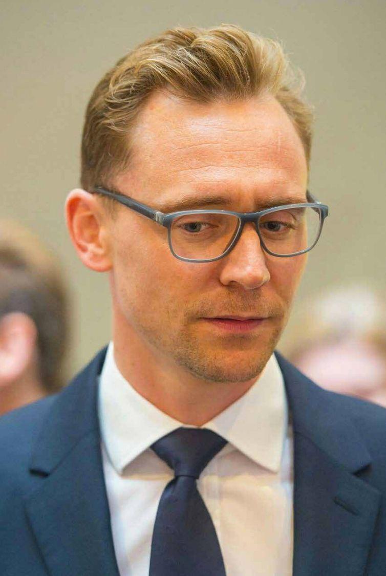 British Actor Tom Hiddleston Recently Seen Wearing The Mykita