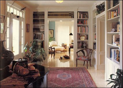 Marvelous Lovely Library With Bookcases Surrounding Both Entrance Doors Largest Home Design Picture Inspirations Pitcheantrous