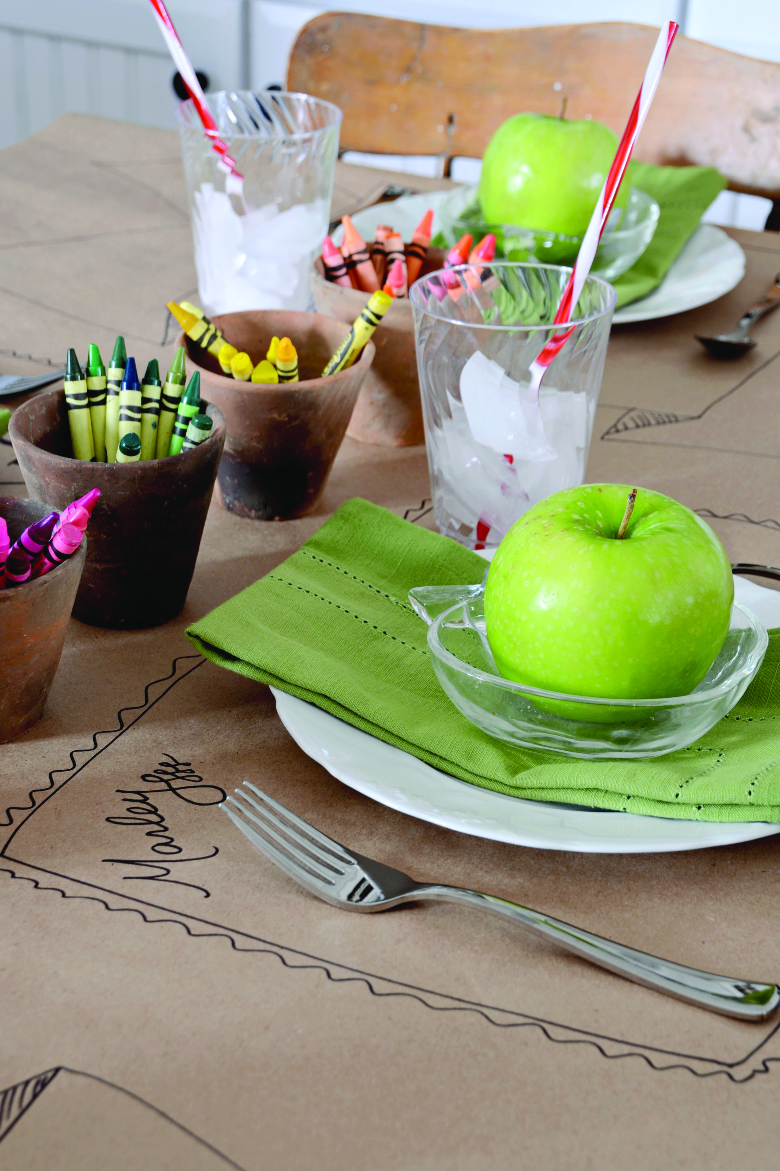 Drawing place mats