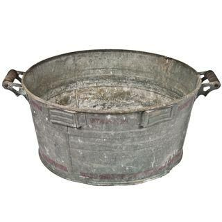 Vintage Galvanized Wash Tub Galvanized Wash Tub Wash Tubs Vintage Storage