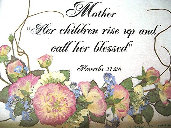 Mom Gift Mother Scripture Christian Art Christian Pressed Pink Etsy Mothers Day Poems Happy Mother Day Quotes Mothers Day Scripture