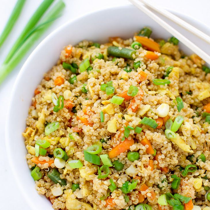 Easy Quinoa Fried Rice Recipe Side Dishes with quinoa ...