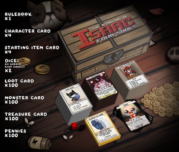 Binding Of Issac Themed Card Game Raises $2 Million