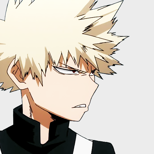 bakugou icon   Tumblr   Anime   Male icon, My hero academia, Boku no