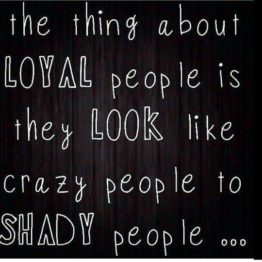 loyal people