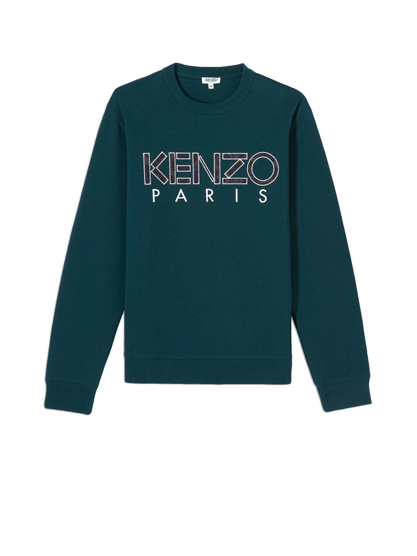 559c3f2d KENZO GREEN SWEATSHIRT. #kenzo #cloth | Kenzo | Sweatshirts, Kenzo ...