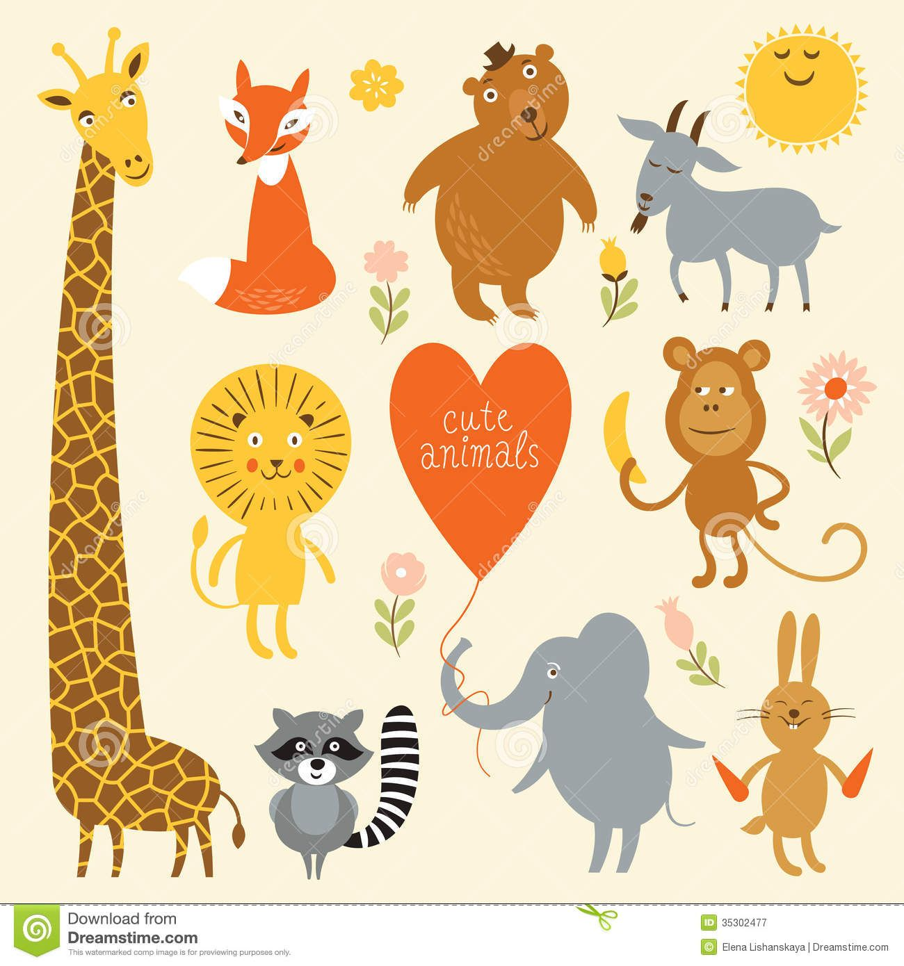 illustration of animals - Google Search