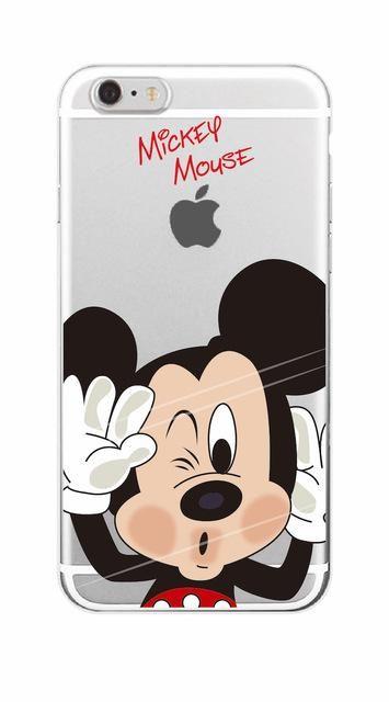 DISNEY CARTOON Case Cover iPhone 4 5 SE