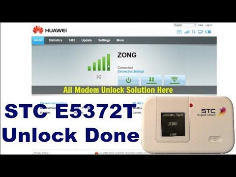 STC Huawei E5372T Unlock Solution By GsmMarhaba | GsmMarhaba