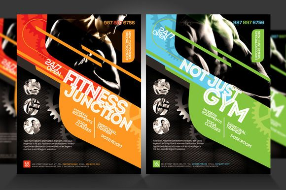 Fitness Flyer / Gym Flyer V5 | Best Flyer template ideas