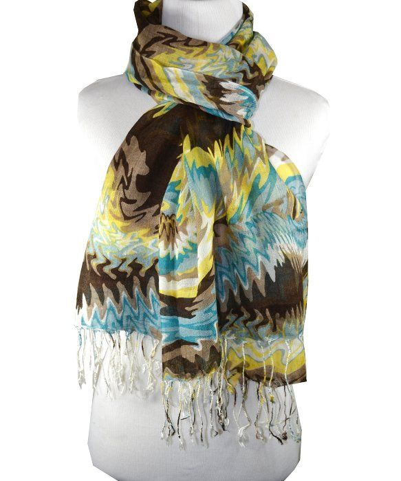 p�r by p�r cashmere Hot & Sour Collection - FLASHBACK SCARF