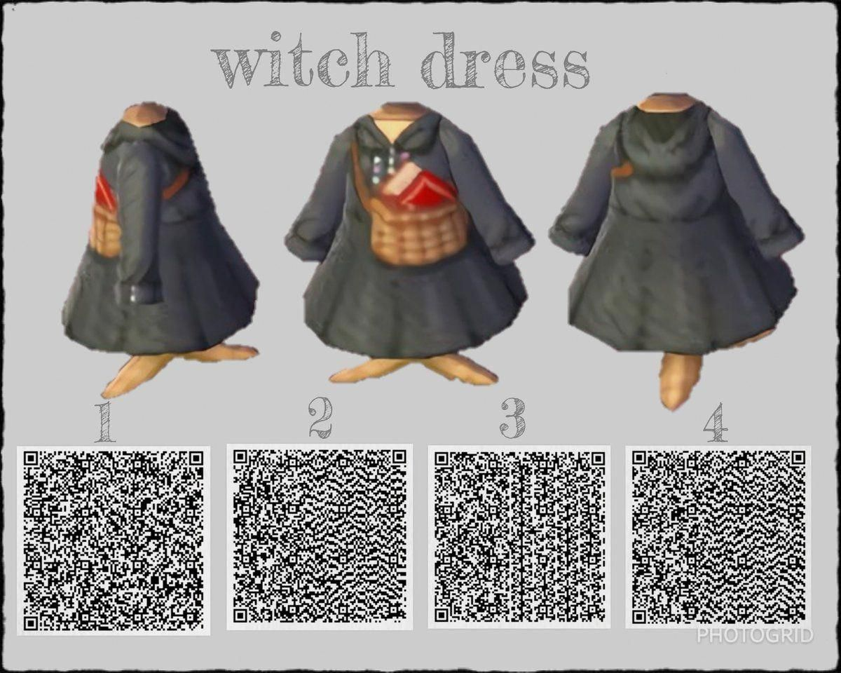 Witch Dress For Animal Crossing Campgamesanimal Animal
