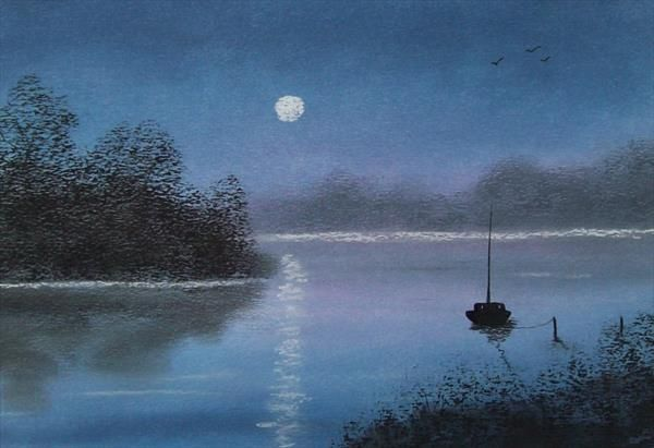 Calm Waters by Patricia Richards | Artgallery.co.uk