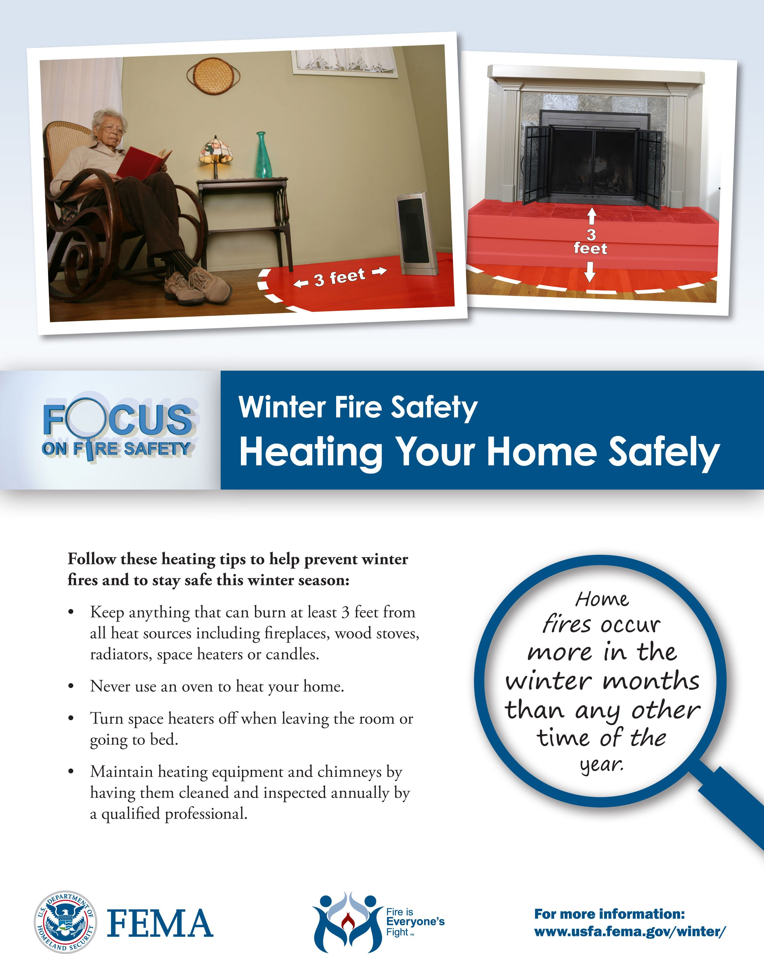 Your Home Heating Safety Tips: Heating For Home Safety