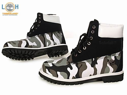 kiwi Estructuralmente Brote  TIMBERLAND CUSTOM > Camo Black White Boots Men's | Boots, Timberland boots  uk, Timberland boots