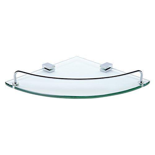 Bathroom Tempered Glass Corner Shelf Vdomus Stainless Steel Shower