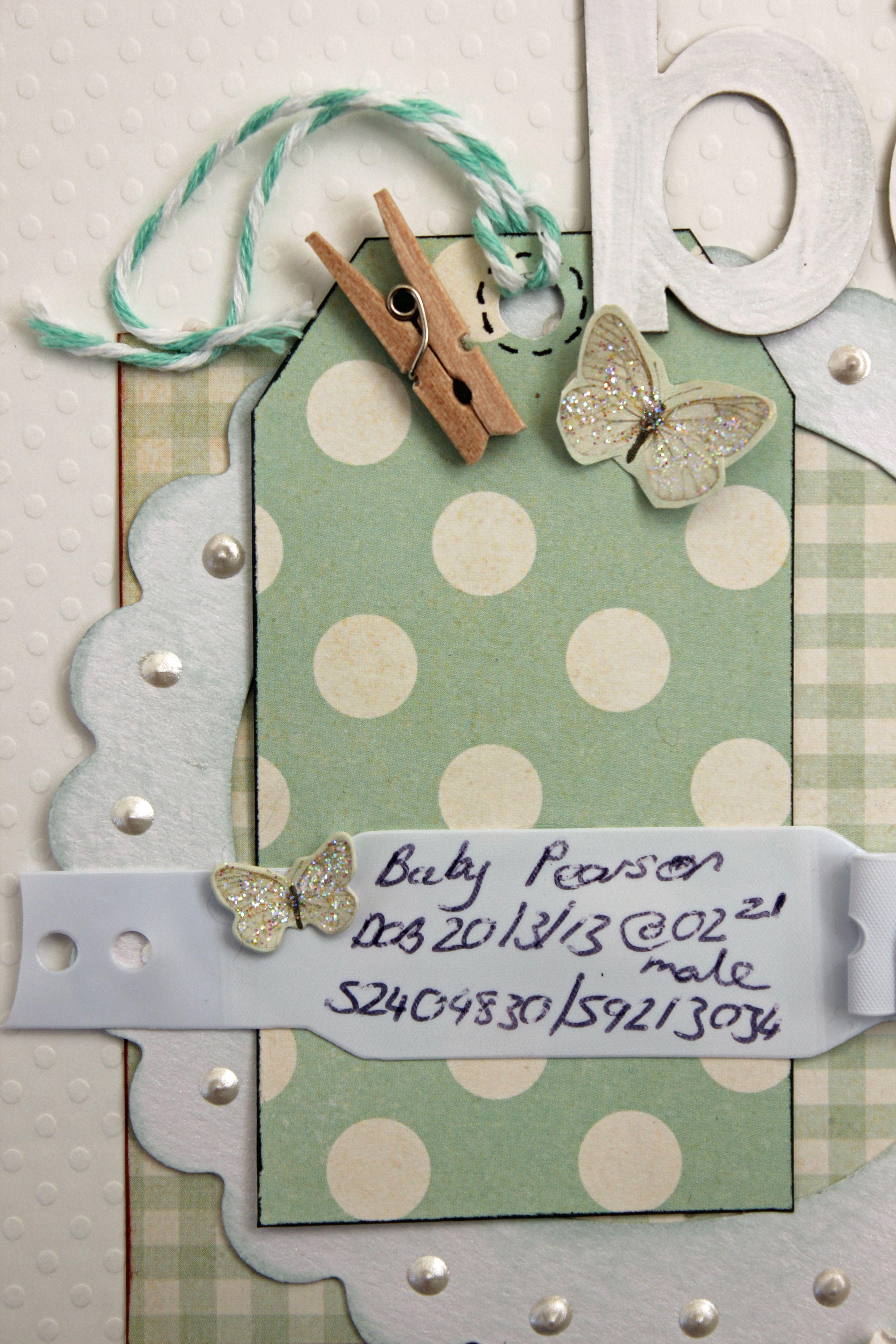 Baby scrapbook ideas on pinterest - Baby Bracelet Baby Scrapbook Ideas Pinterest Braccialetti Beb E Braccialetto Per Neonato