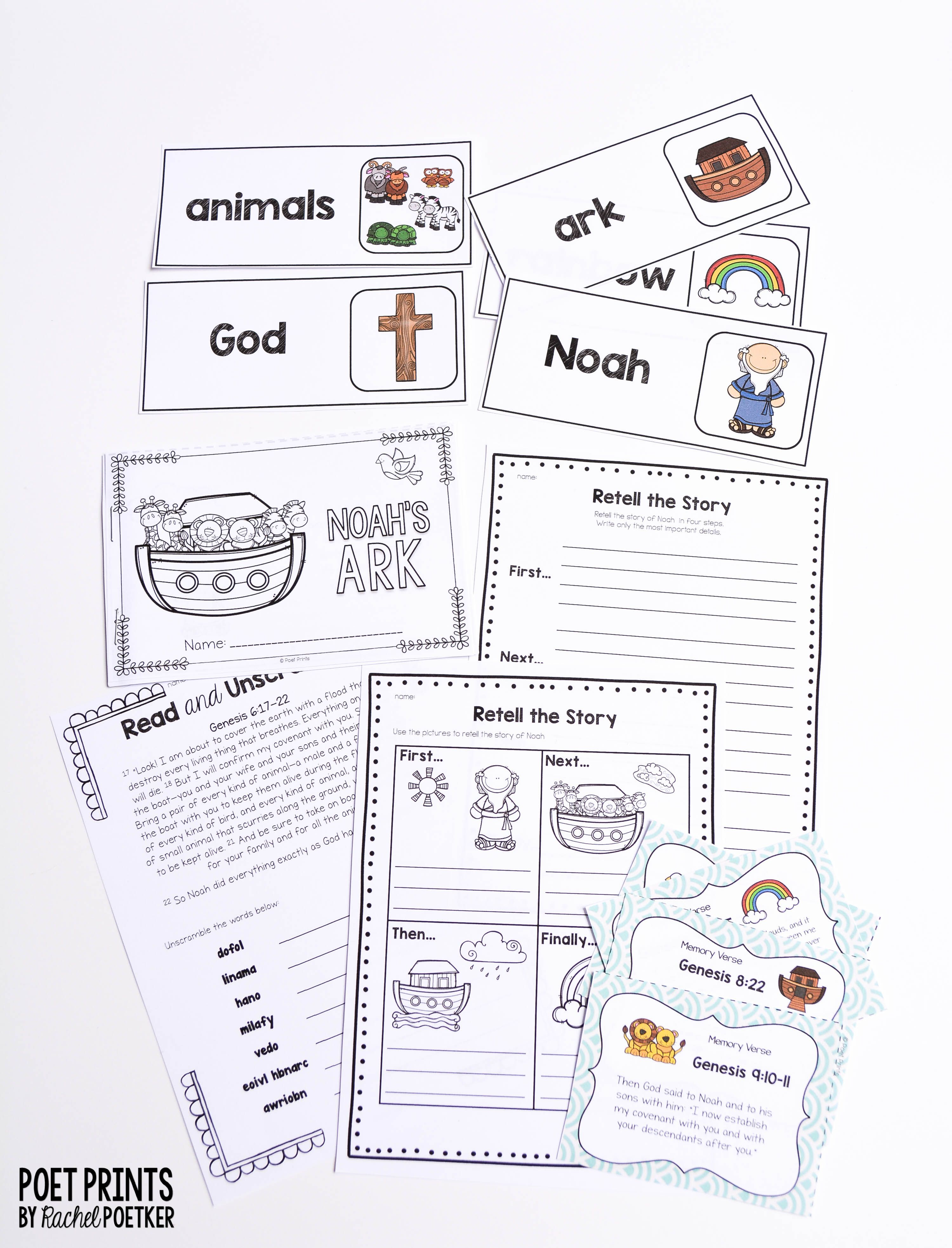 do you know the story of noah s ark from genesis i love teaching students and sunday school this bible story with fun worksheets crafts and games  [ 3000 x 3932 Pixel ]