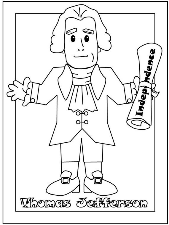 President S Day Coloring Pages And Pintables For Kids Coloring