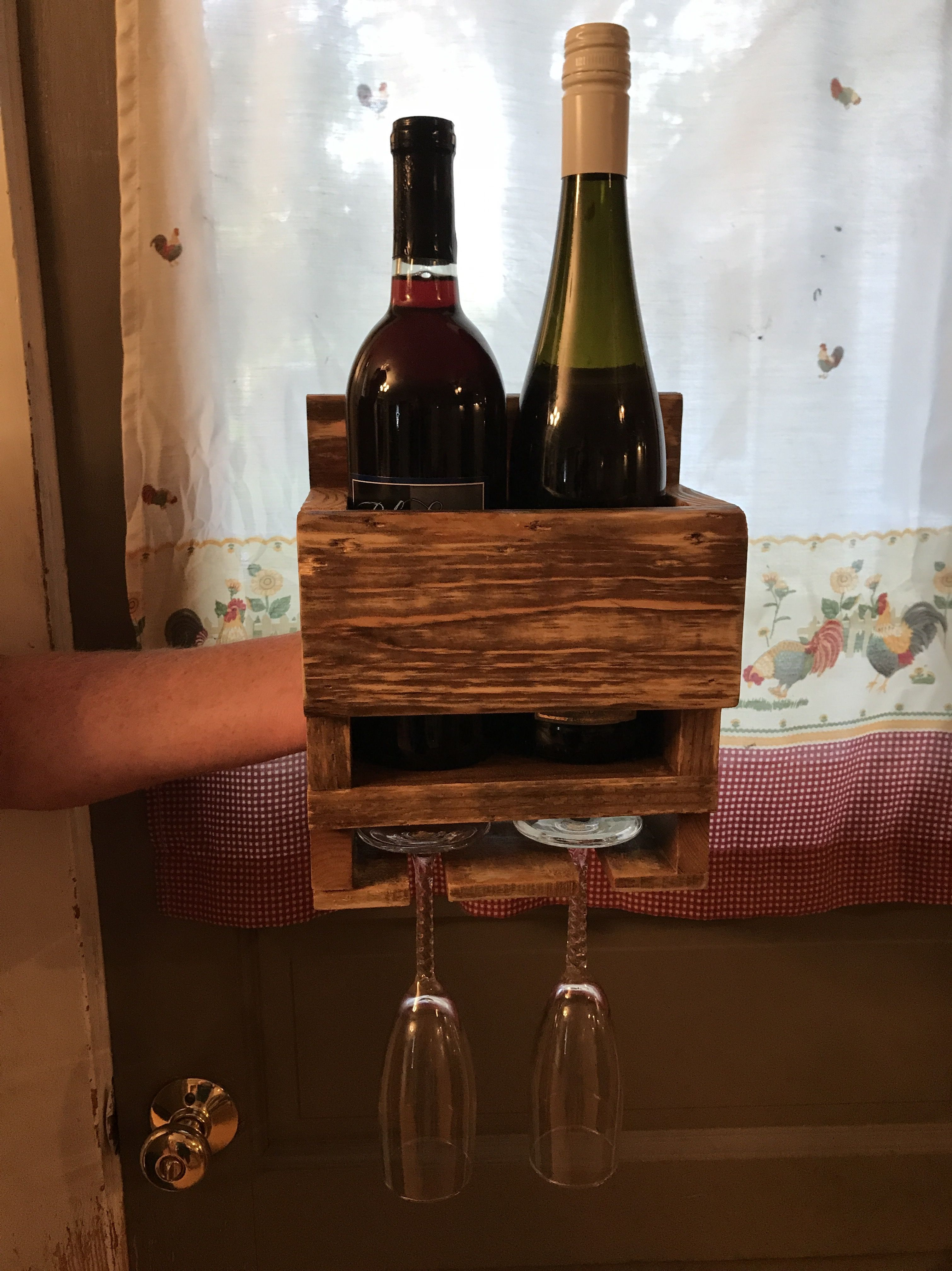 2 Bottle Couples Wall Wine Rack A Perfect Wedding Gift