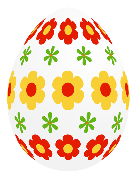 Easter Egg With Flowers Png Picture Easter Eggs Easter Art Easter Images