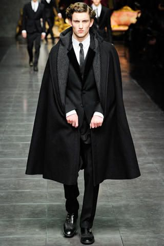 8b5cc067f2f D&G Men Cape | Stylish Clothes | Fashion, Dolce, gabbana man, Mens ...