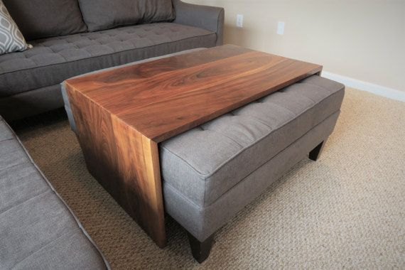 This Handcrafted Waterfall Design Coffee Table Is Designed