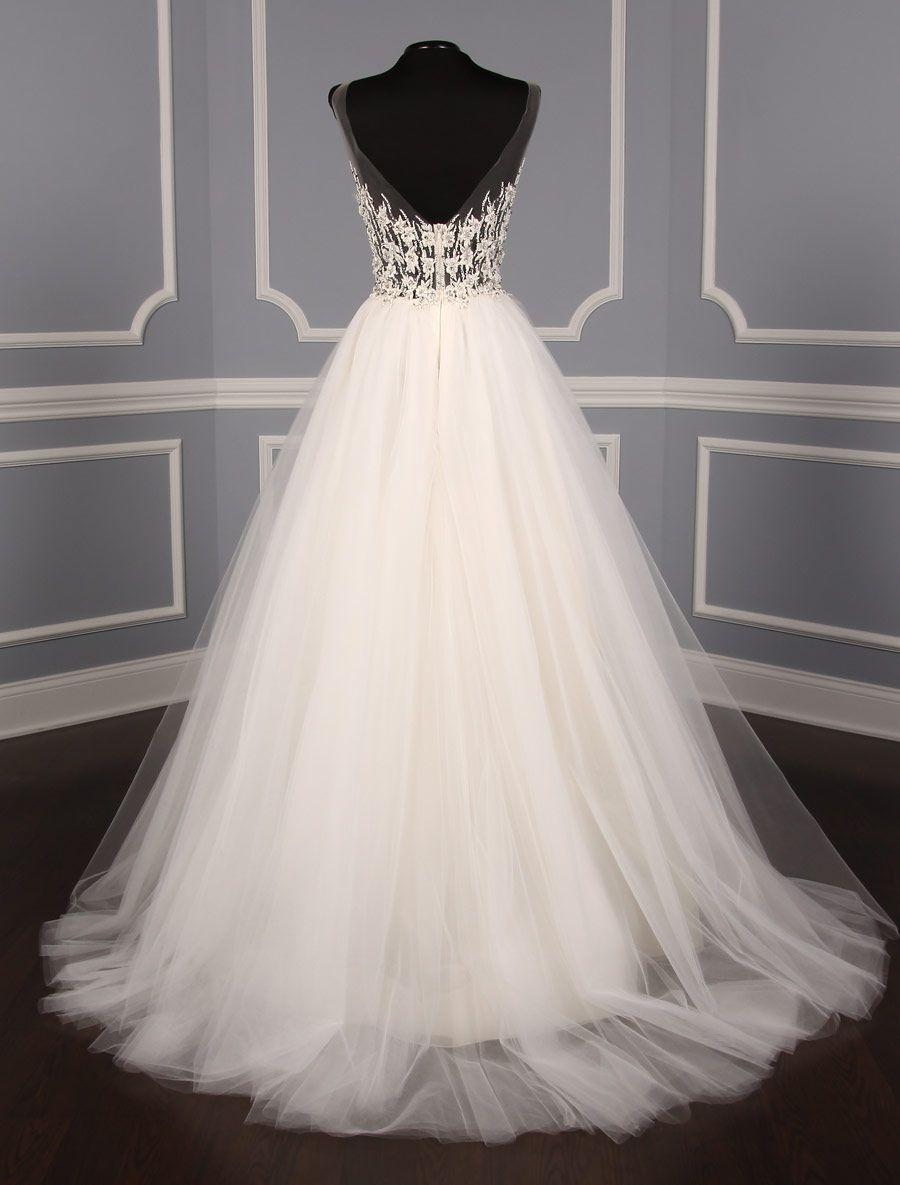 12330a863527 Advertisement; Liancarlo 6828 Wedding Dress Size 10